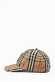 thumbnail of Monogram Motif Baseball Cap in Vintage Check Cotton      #1