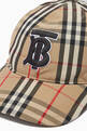 thumbnail of Monogram Motif Baseball Cap in Vintage Check Cotton      #2