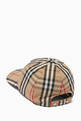 thumbnail of Monogram Motif Baseball Cap in Vintage Check Cotton      #3