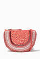 thumbnail of Sequins and Pearls Embroidered Handbag   #0