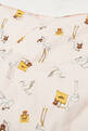 thumbnail of Stork Print Sleeping Bag in Cotton Jersey   #3
