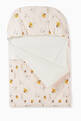 thumbnail of Stork Print Sleeping Bag in Cotton Jersey   #1