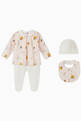 thumbnail of Printed Cotton Romper, Set of 3    #0