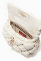 thumbnail of Valentino Garavani SpikeMe Small Clutch in Embossed Nappa     #3