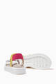 thumbnail of Tricolour Logo Print Sandals   #1