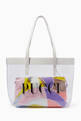 thumbnail of Quirimbas Print Tote Bag in PVC   #0
