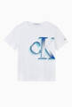 thumbnail of Pixelated Logo Organic Cotton T-shirt    #0