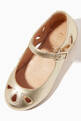 thumbnail of Alexa Ballerinas in Metallic Leather    #3