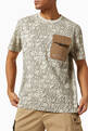 thumbnail of T-shirt with Cargo Pocket in DG print Cotton Jersey   #4