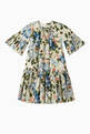 thumbnail of Kaftan Dress in Floral Cotton Poplin   #0