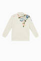 thumbnail of Zip-up Sweatshirt with Magnolia Print in Jersey     #2