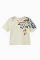 thumbnail of T-shirt with Flower Print in Cotton   #1