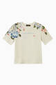 thumbnail of T-shirt with Flower Print in Cotton   #0