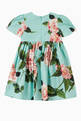 thumbnail of Dress in Floral Cotton Poplin     #1