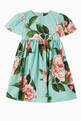 thumbnail of Dress in Floral Cotton Poplin     #0