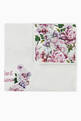 thumbnail of Reversible Blanket with Peony Print in Cotton Jersey     #0
