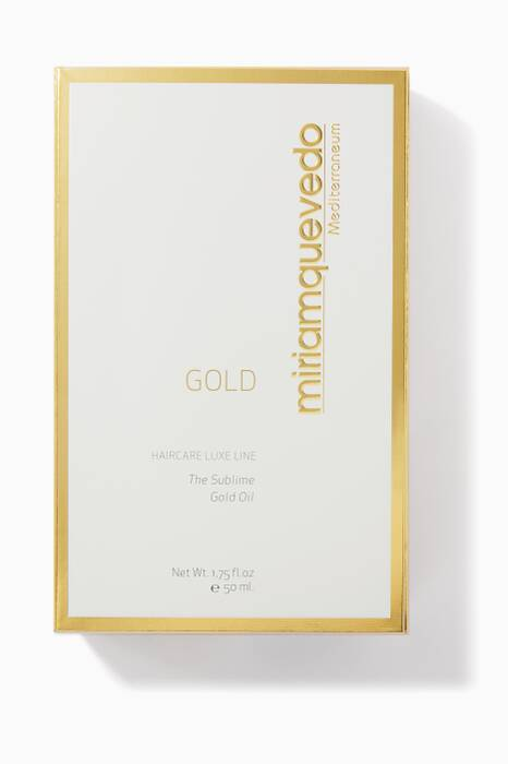 The Sublime Gold Hair Oil, 50ml