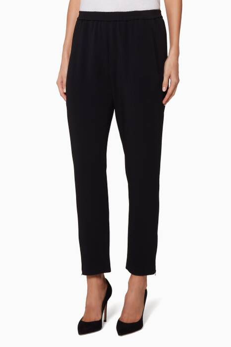 Black Tamara Tapered Pants