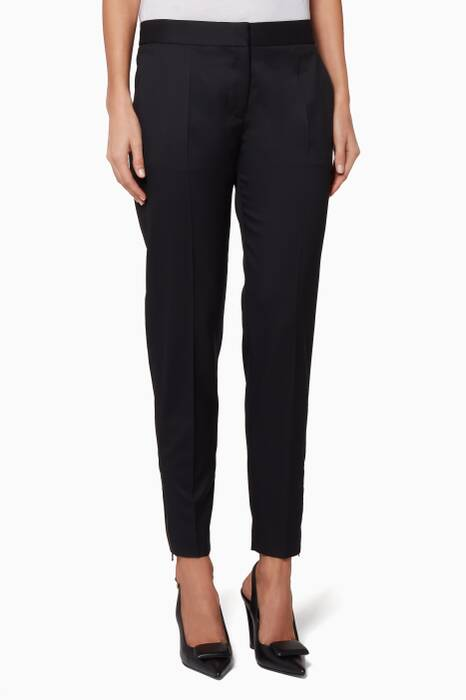 Black Vivian Tailored Pants