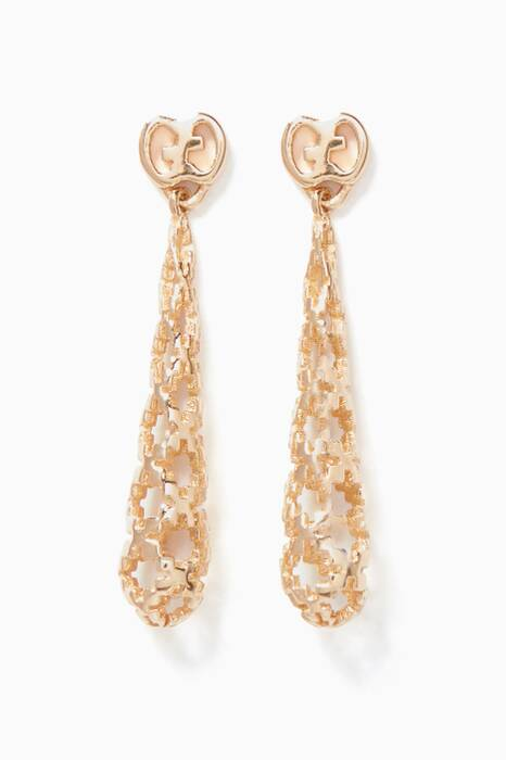 Yellow-Gold Diamantissima Drop Earrings