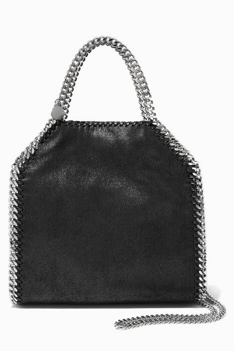 Black Falabella Shaggy Deer Small Tote Bag