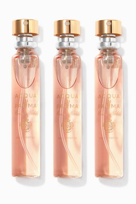 Rosa Nobile Purse Spray Refills, 3 x 20ml