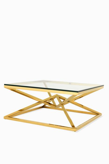 Gold Connor Coffee Table