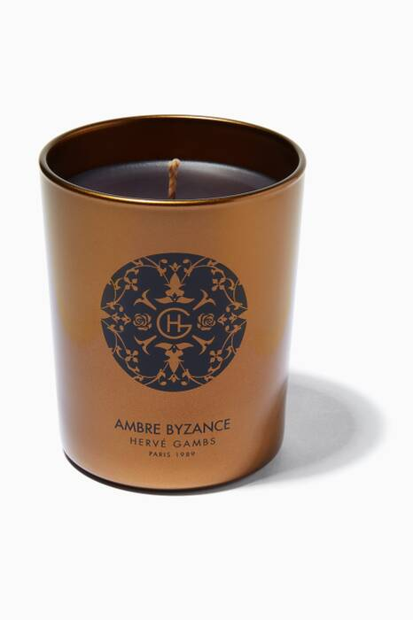 Ambre Byzance Couture Candle, 190g