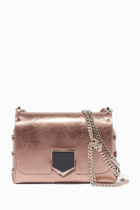 Metallic Lockette Petite Shoulder Bag