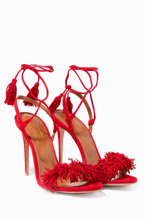 Red Wild Thing Sandals
