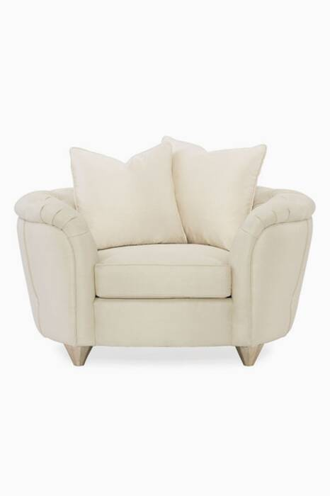 Beige Everly Sterling Armchair