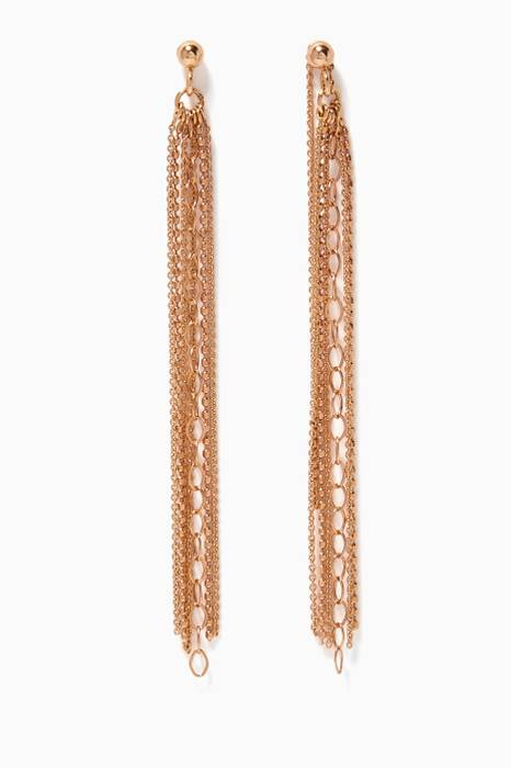 Gold Unchained Long Earrings