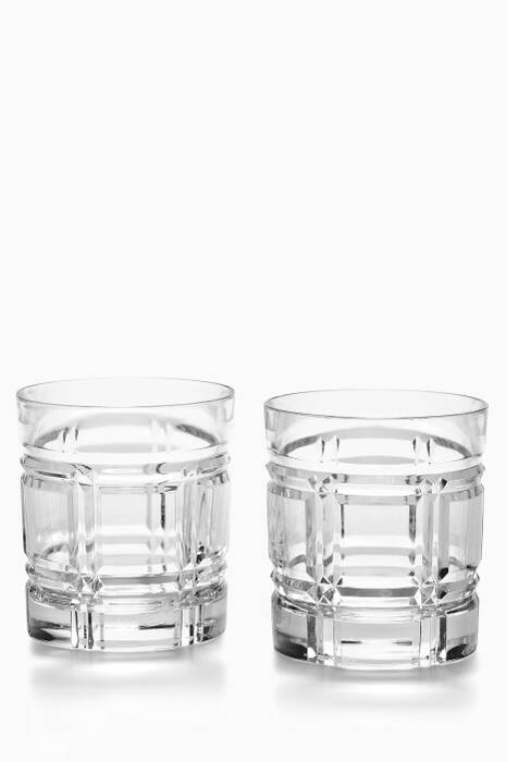 Clear Greenwich Tumbler Set
