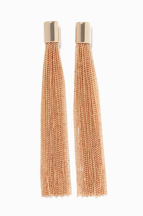 Gold Itaca Chain Earrings