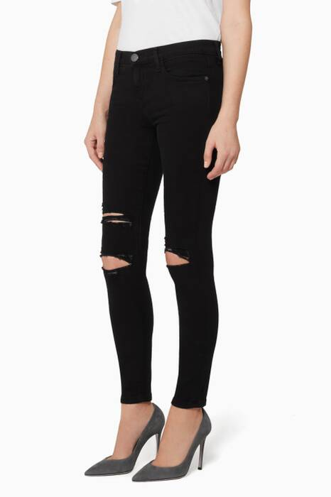 Black The Stiletto Jean