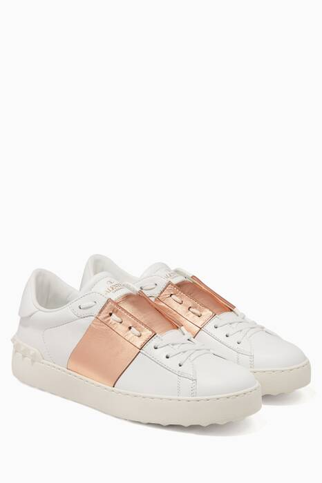 Beige Open Sneakers