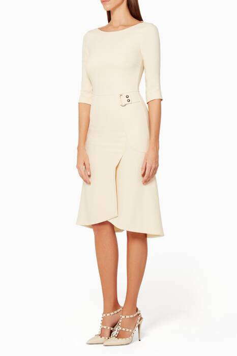 Cream Healey Dress