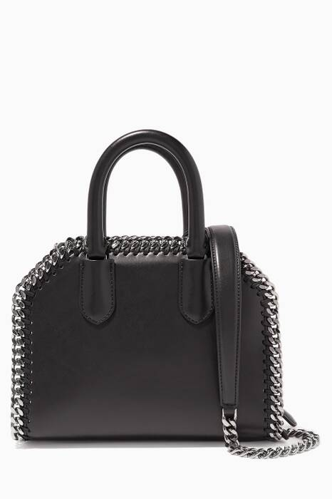 Black Falabella Box Crossbody Bag
