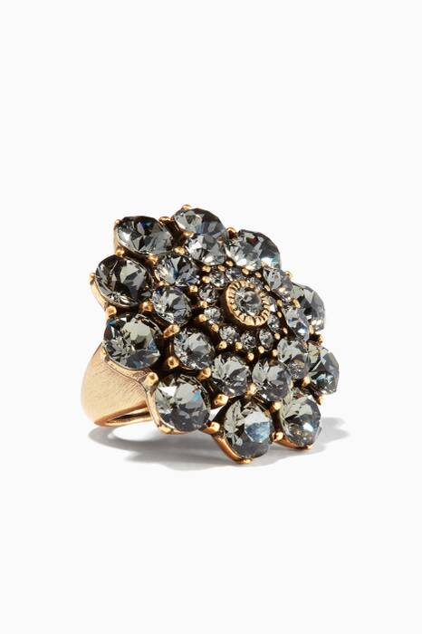 Gold Jeweled Ring