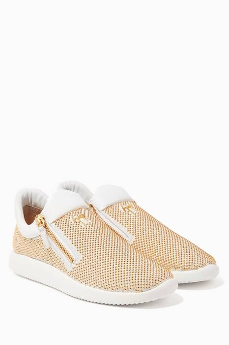 Gold Donna Sneakers