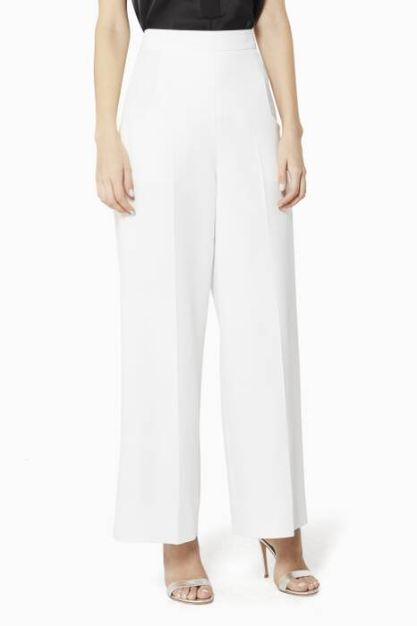 White Ward Pants