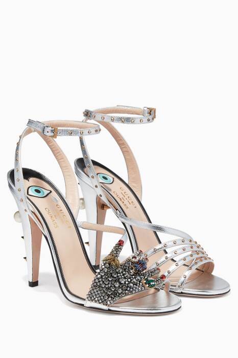 Silver Sand Pelle S Cuoio Sandals