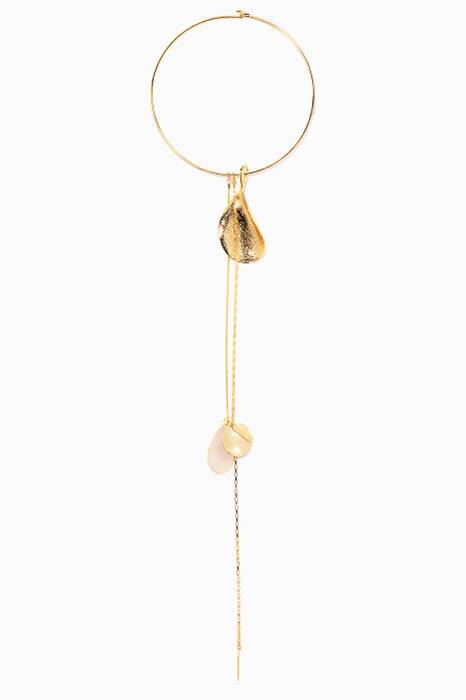 Gold Aurora Asymmetric Necklace