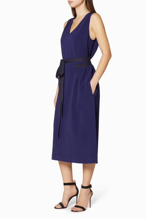 Navy Maggie Dress