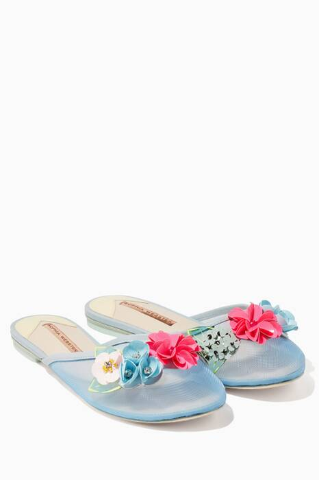 Pale-Blue Lilico Sequin Slipper