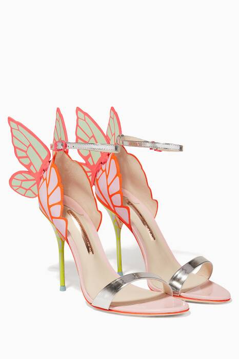 Pale-Pink Chiara Leather Sandals