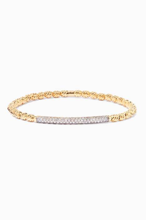18kt Yellow-Gold Flex Bracelet