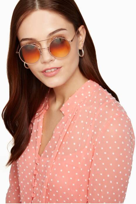 Pale-Pink Tati Sunglasses