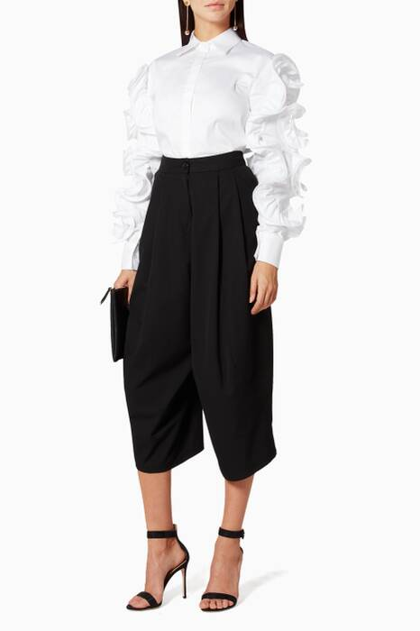 Black Garcon Trousers