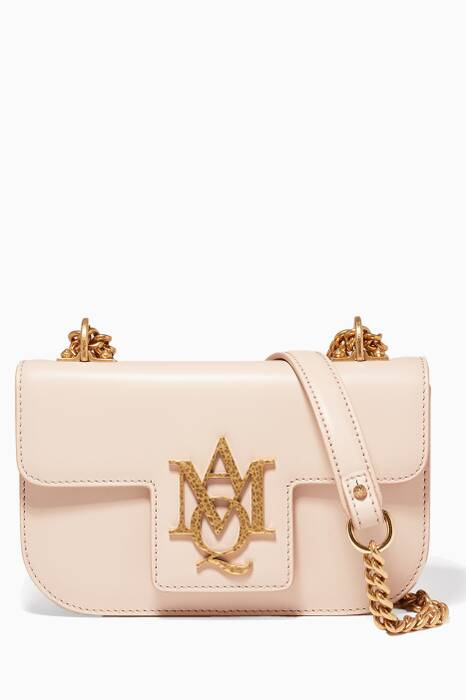 Nude Insignia Small Leather Shoulder Bag